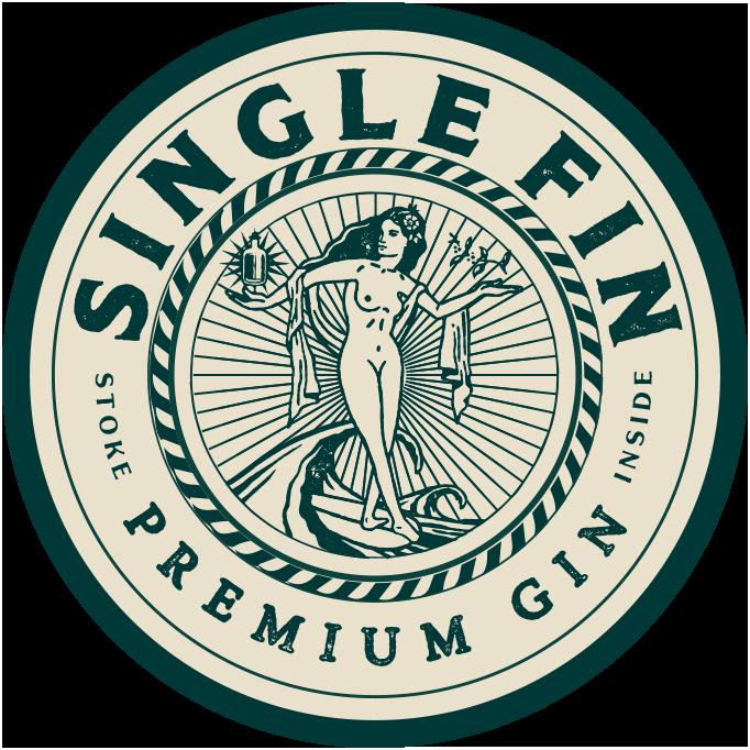 Single Fin Gin Stoke Inside
